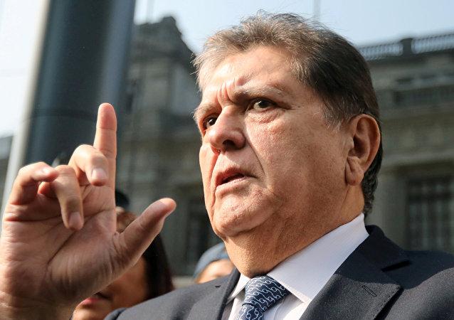 Alan García, expresidente de Perú
