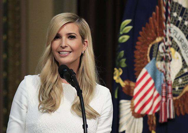 Ivanka Trump, hija y asesora del presidente Donald Trump
