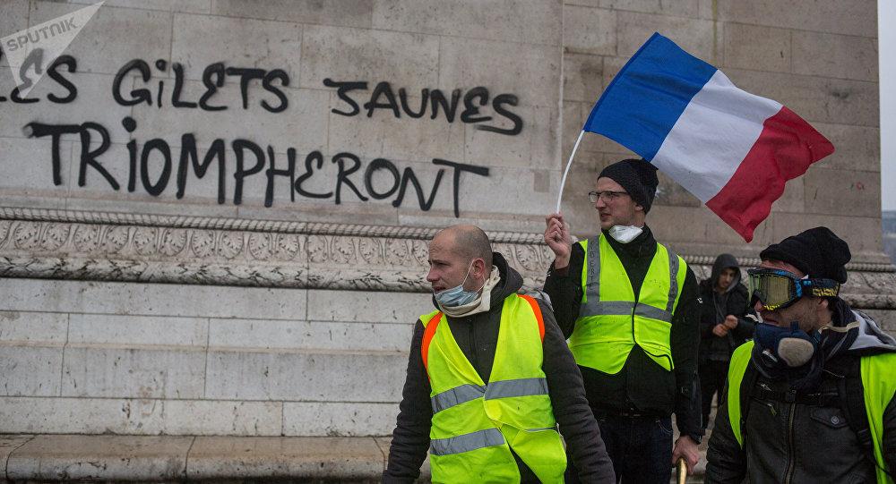 Los 'chalecos amarillos' en Francia