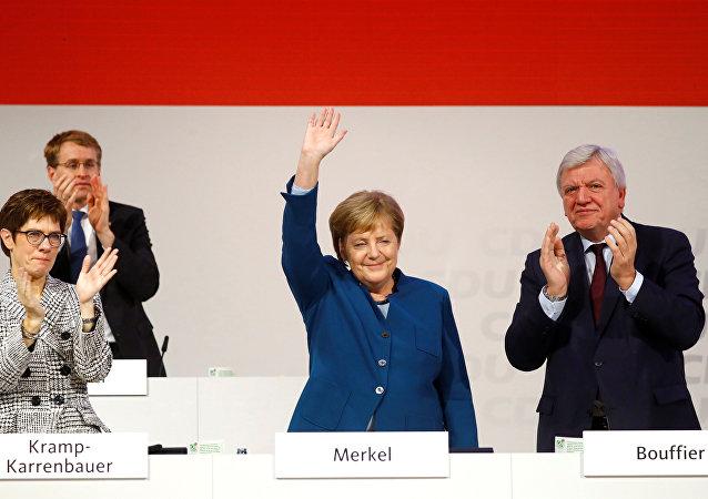 Angela Merkel, canciller federal de Alemania