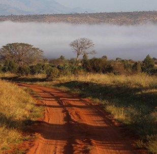Un camino en Kenia, referencial
