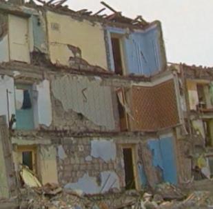 Un país en ruinas: los daños del aterrador terremoto que sacudió Armenia en 1988