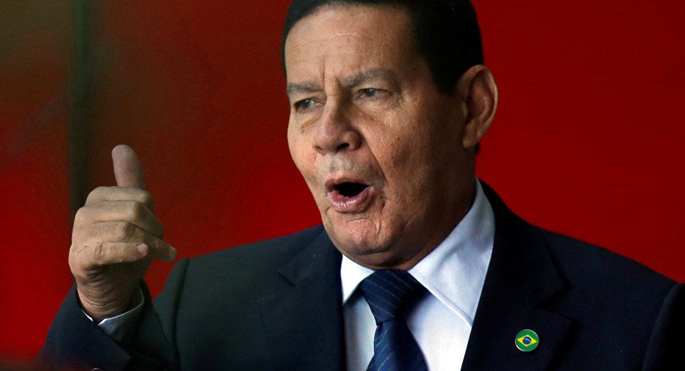 Vicepresidente electo de Brasil, general retirado Hamilton Mourao