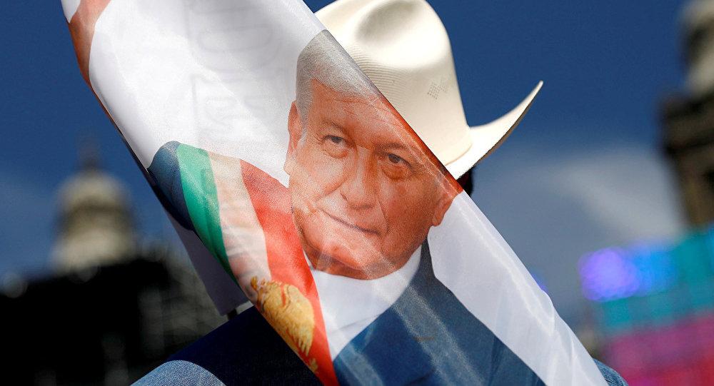La imagen de Andrés Manuel López Obrador, presidente de México