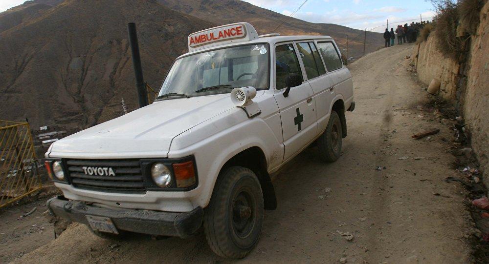 Ambulancia boliviana