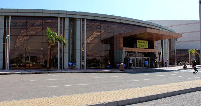 El aeropuerto egipcio de Sharm el Sheikh