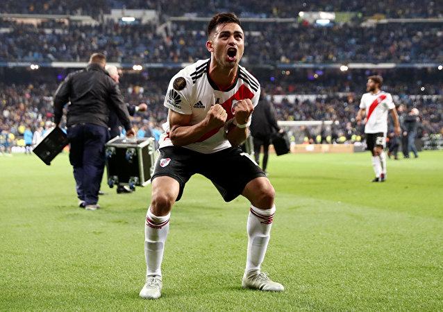 Gonzalo Martinez, jugador de River Plate