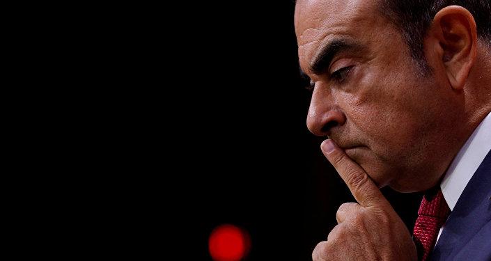 Carlos Ghosn, exjefe del consorcio automovilístico Nissan