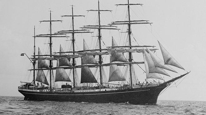 El velero Kobenhavn (archivo)