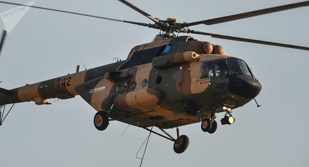 Un helicóptero Mi-17B-5