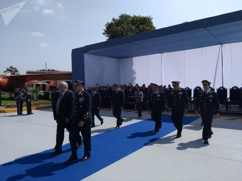 La apertura de un nuevo punto de mantenimiento y reparación de los helicópteros de fabricación rusa en Perú