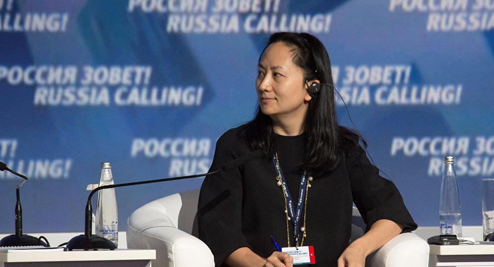 Meng Wanzhou, directora financiera de la comañía de telecomunicaciones Huawei
