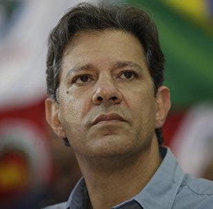 Fernando Haddad, excandidato presidencial brasileño