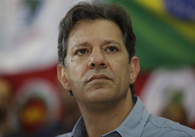 Fernando Haddad, excandidato presidencial brasileño (archivo)