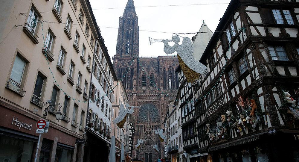 El mercado navideño de Estrasburgo