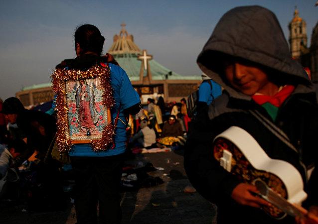 Día de la Virgen de Guadalupe en México
