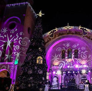 Así luce la Navidad en Latakia
