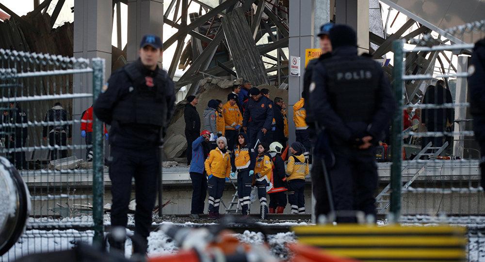 Descarrilamiento de tren en Turquía