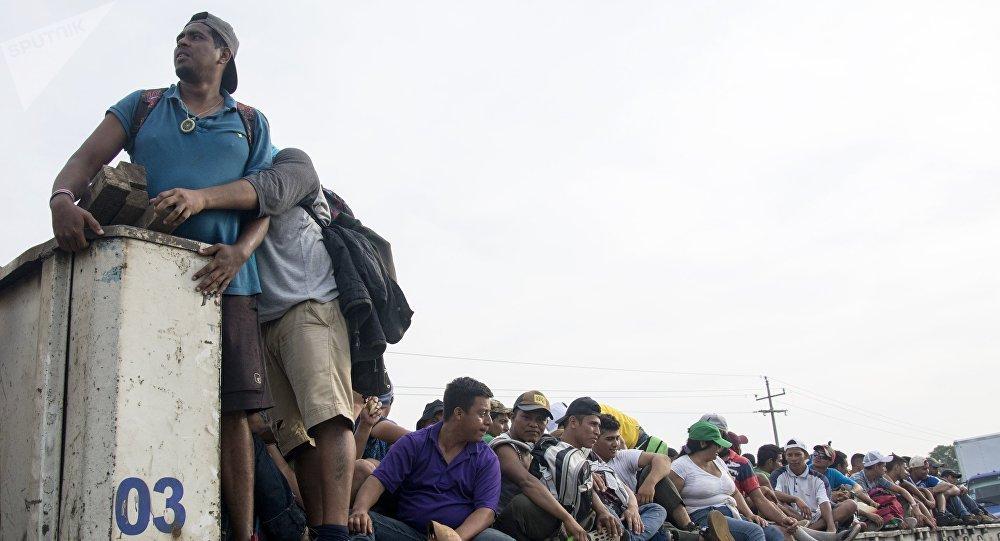 Los migrantes centroamericanos