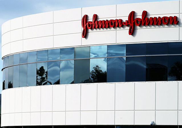 Un edificio de Johnson & Johnson en Irvine, California, EEUU