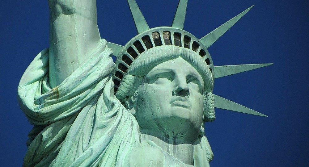 La Estatua de la Libertad en Nueva York (EEUU)