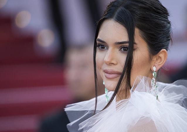 Kendall Jenner, modelo estadounidense, durante el Festival de Cine de Cannes (Francia), 12 de mayo de 2018