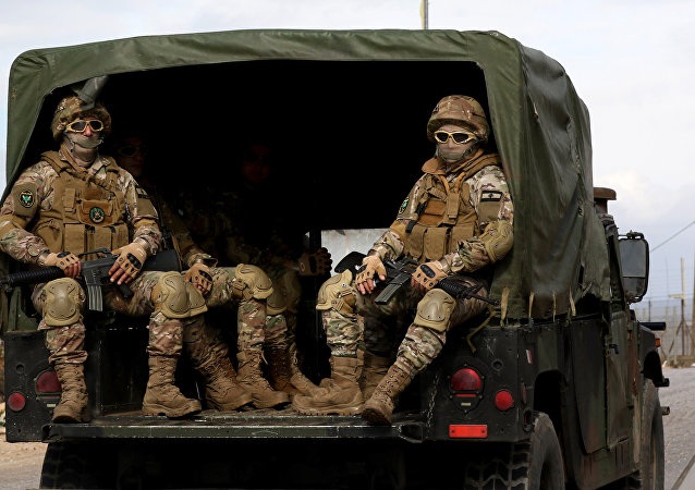 Militares libaneses