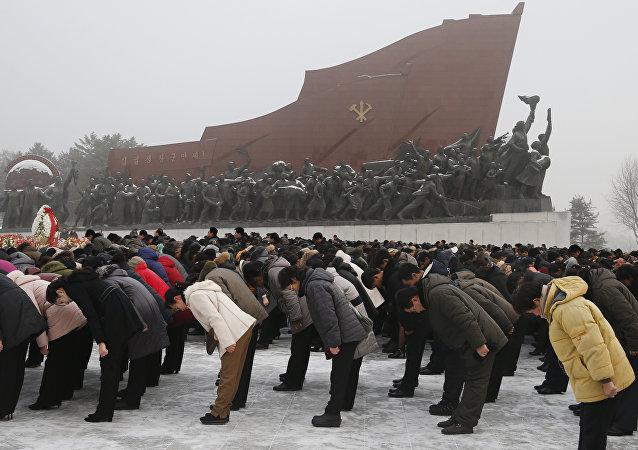 Corea del Norte conmemora el séptimo aniversario de la muerte de Kim Jong-il