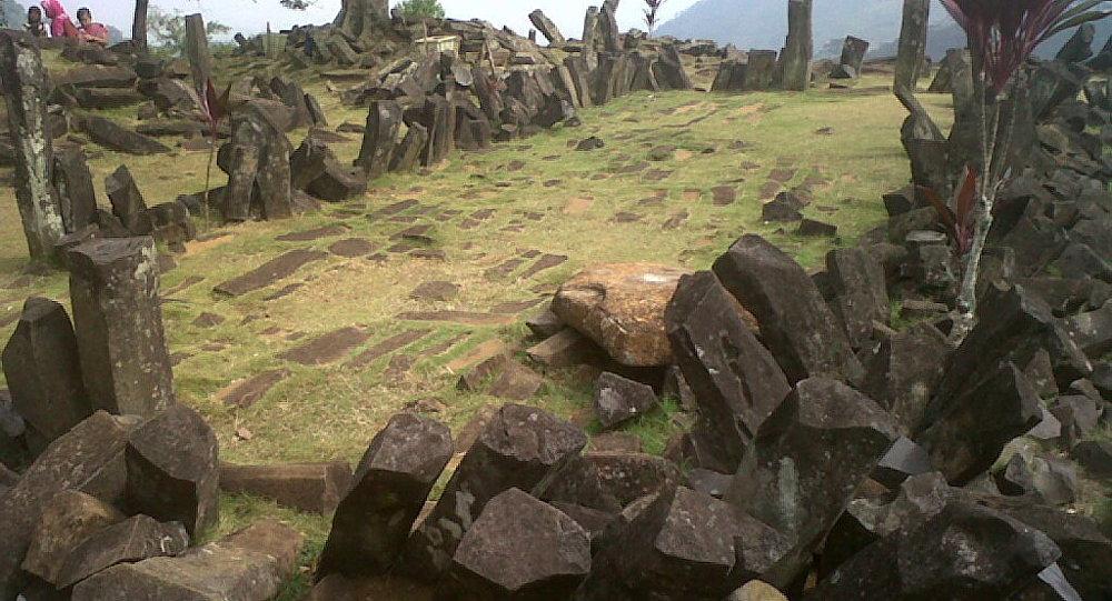 El sitio megalítico de Gunung Padang