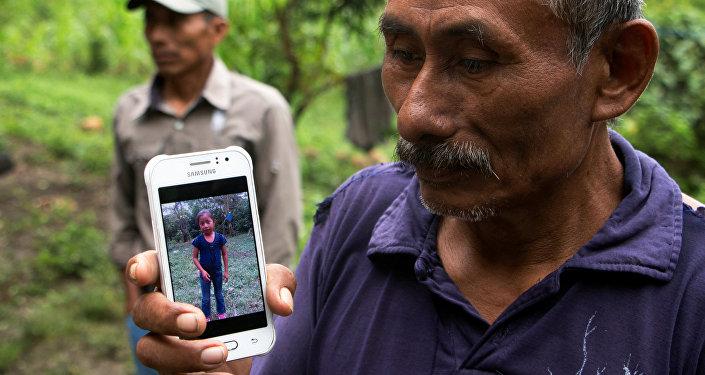 Domingo Caal, el abuelo de la niña guatemalteca fallecida en EEUU