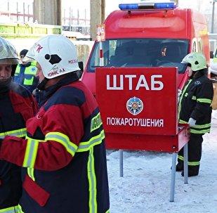Los rescatistas de Rusia