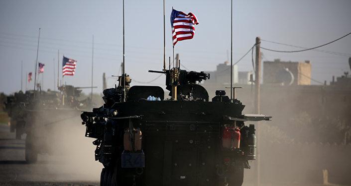 Las tropas estadounidenses en Siria (archivo)