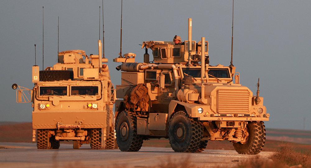 Las tropas estadounidenses en Siria