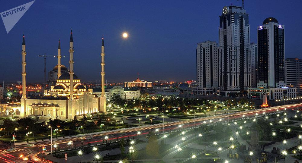 Grozni, capital de Chechenia