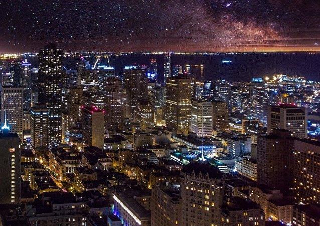 El cielo de San Francisco