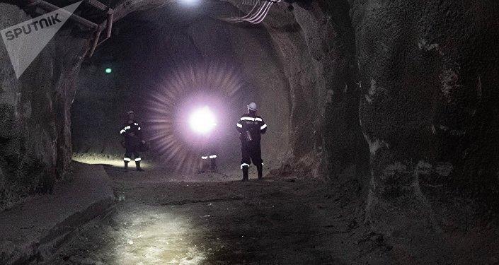 Una mina en Rusia (archivo)