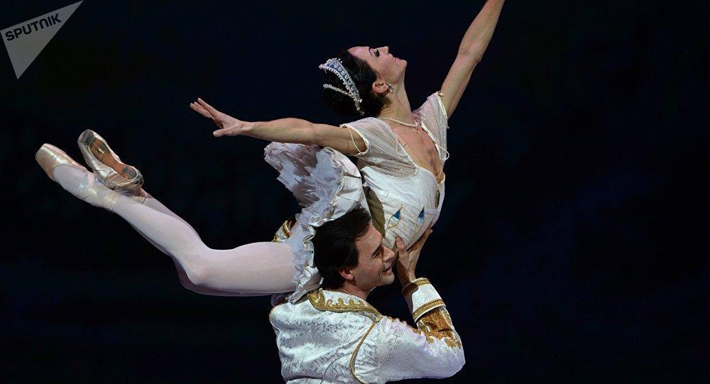 Una escena del ballet El Cascanueces