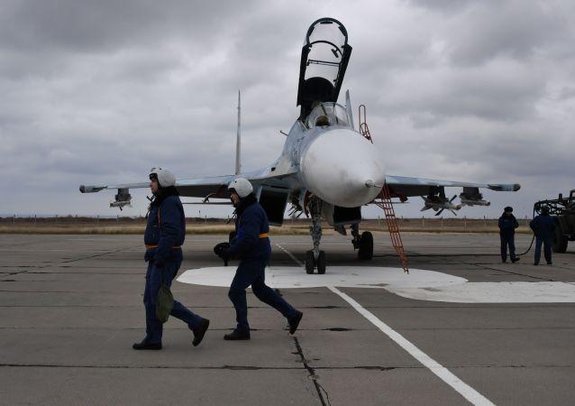 Aeropuerto internacional de Belbek en Crimea, la cuna de la aviación rusa