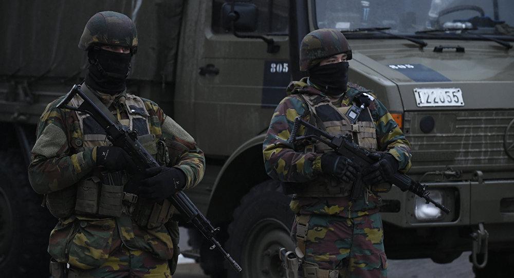 Soldados belgas