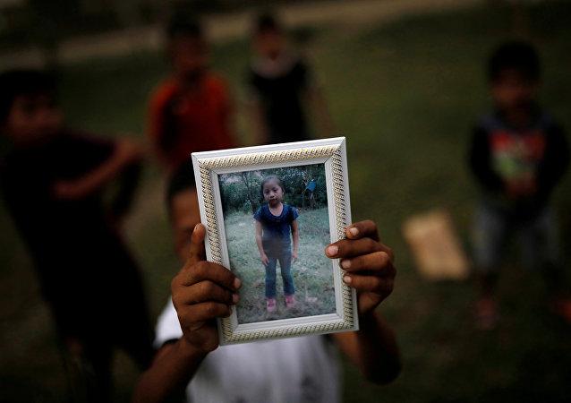 El retrato de Jakelin Caal, niña guatemalteca fallecida en EEUU