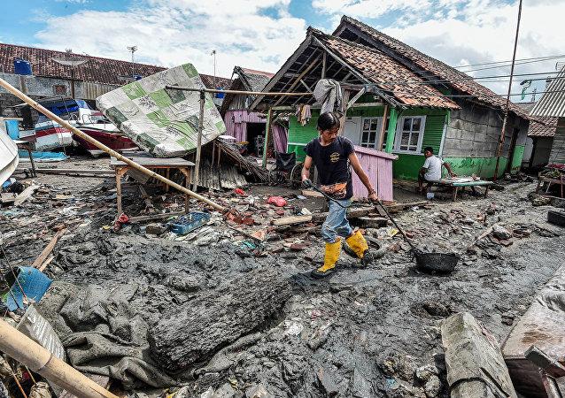 Las consecuencias del tsunami en Indonesia