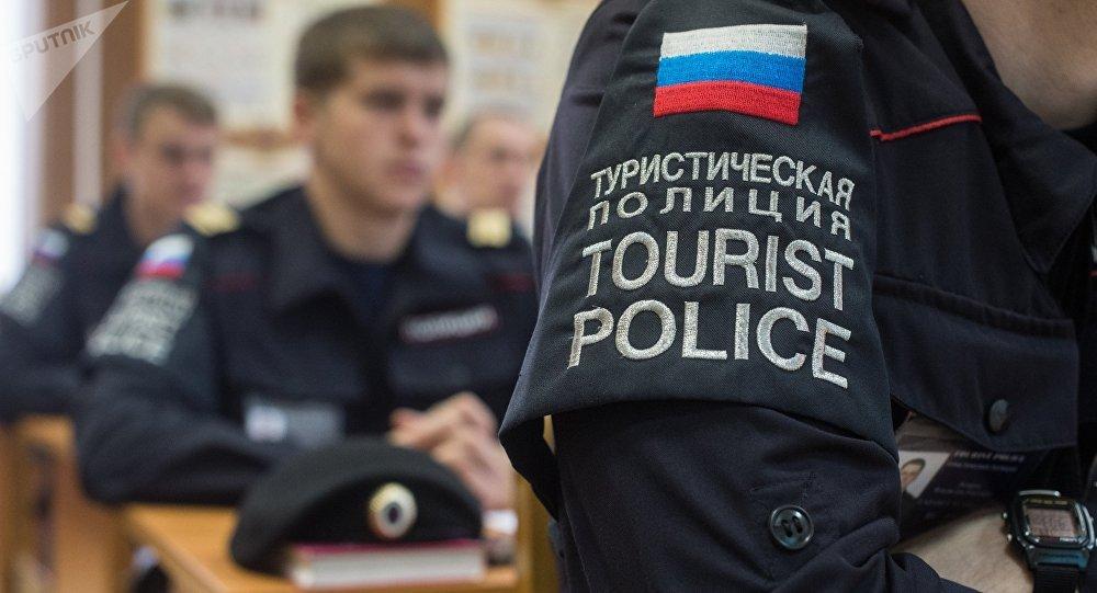 La Policía turística rusa