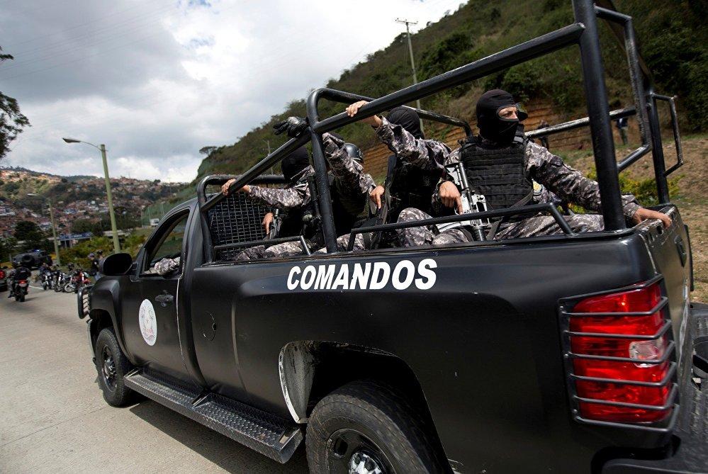 La madrugada del 15 de enero de 2018, efectivos de seguridad venezolanos culminaron la Operación Gedeón, que resultó en la desarticulación del grupo rebelde liderado por el policía sublevado Óscar Pérez. Las autoridades venezolanas catalogaron al grupo como una célula terrorista por atacar al Tribunal Supremo de Justicia en el 2017 y asaltar al Fuerte Paramacay.