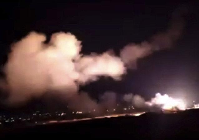 Consecuencias del ataque de Israel contra Siria