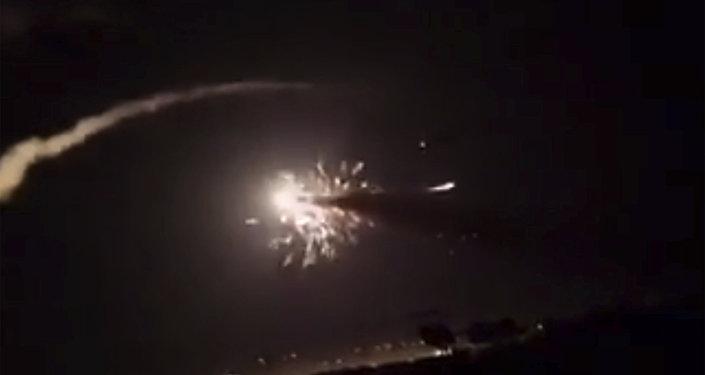 Ataque israelí contra Damasco