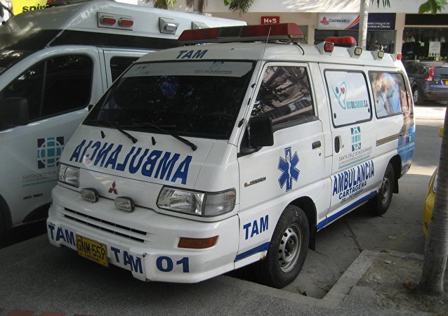 Ambulancia colombiana