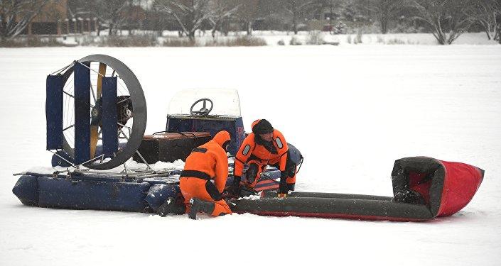 Los rescatistas rusos