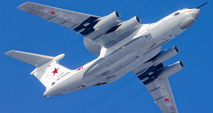 Avión de alerta temprana y control aerotransportado A-50U, foto archivo