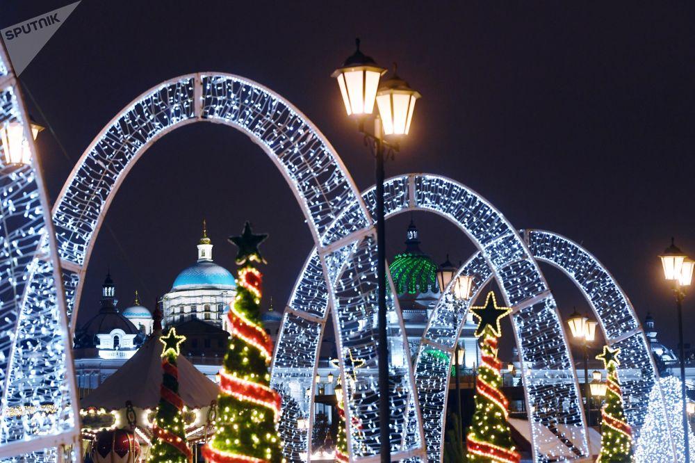 Rusia celebra a lo grande los festejos de fin de año