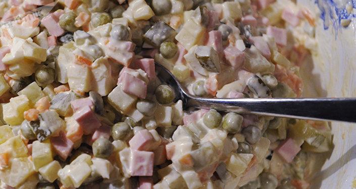 La ensalada rusa 'olivié'